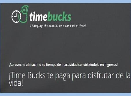 TimeBucks: Guía para Ganar Dinero Online