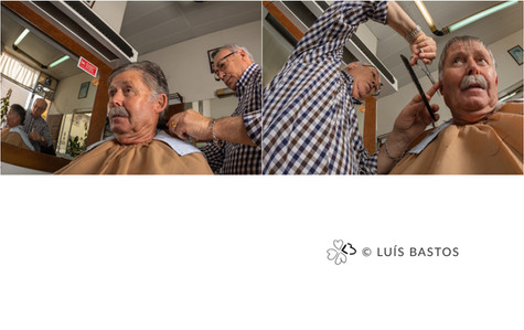 ON THE BARBER'S CHAIR