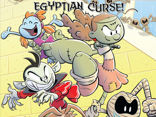 Press Release:  Monster Elementary and the Egyptian Curse!, the Second Graphic Novel in the Monster