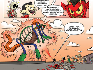 """Press Release:  """"Monster Elementary,"""" a Self-Published and Kickstarted All-Ages Graphic No"""