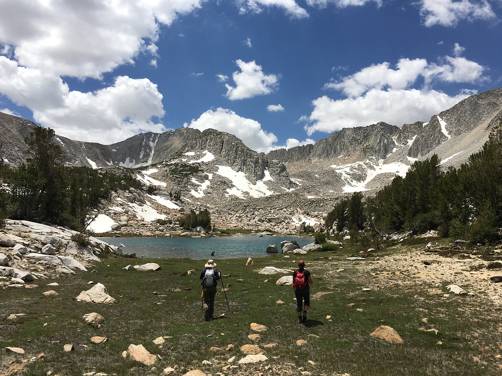 Girl Scouts Backpacking Distanced