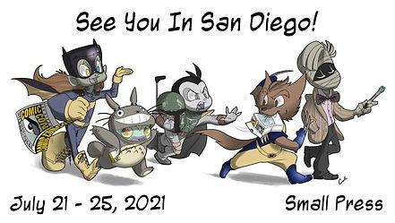 San Diego Comic Con 2021 Facebook Event