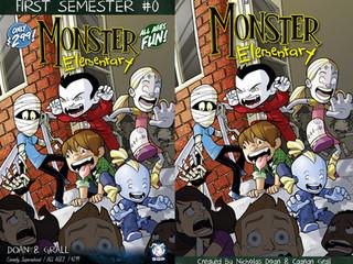 """ICv2: Space Goat Picks Up Kickstarter Kids Title """"Monster Elementary"""""""