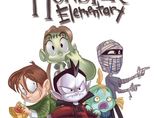 Bleeding Cool:  Monster Elementary Vs. The Snowball