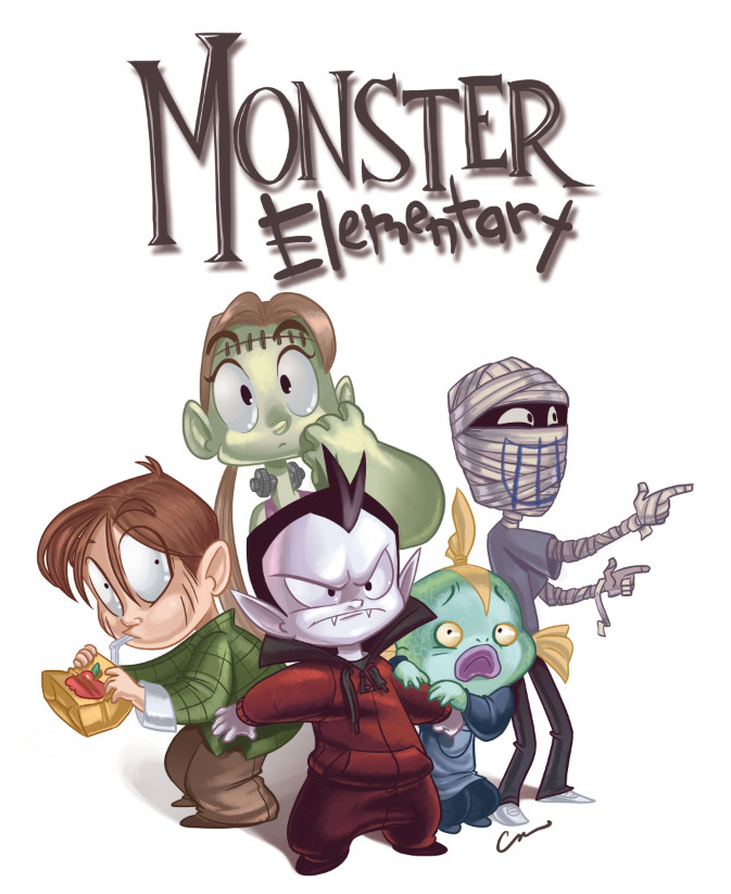 Monster Elementary Group by Cal Moray