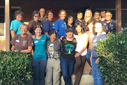 California Girl Scout Backpackers 2017