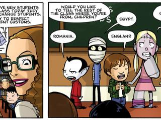 HorrorTalk: Help Get More Horror Comics for Kids with Monster Elementary
