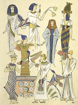 18th Dynasty Clothing