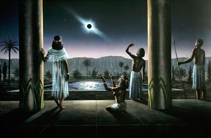 Ancient Egyptian Solar Eclipse
