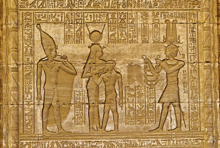 Ptolemaic Art from the Temple of Dendera