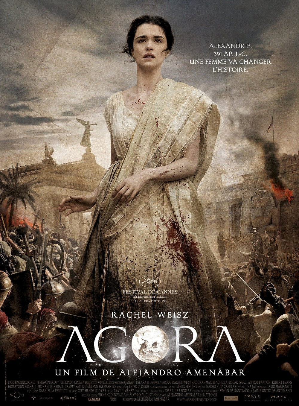 AGORA Film Poster - French