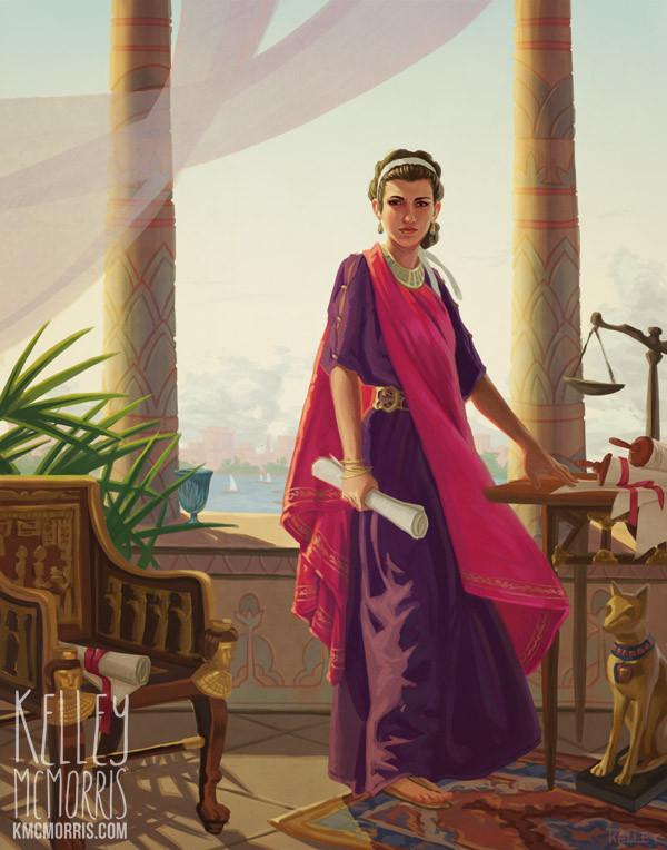 """Cleopatra"" - Kelley McMorris"