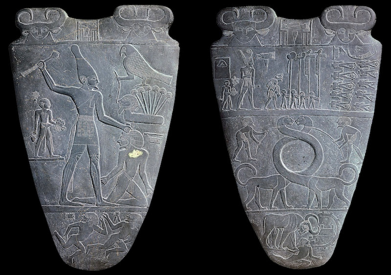 The Narmer Palette (Cairo Museum)