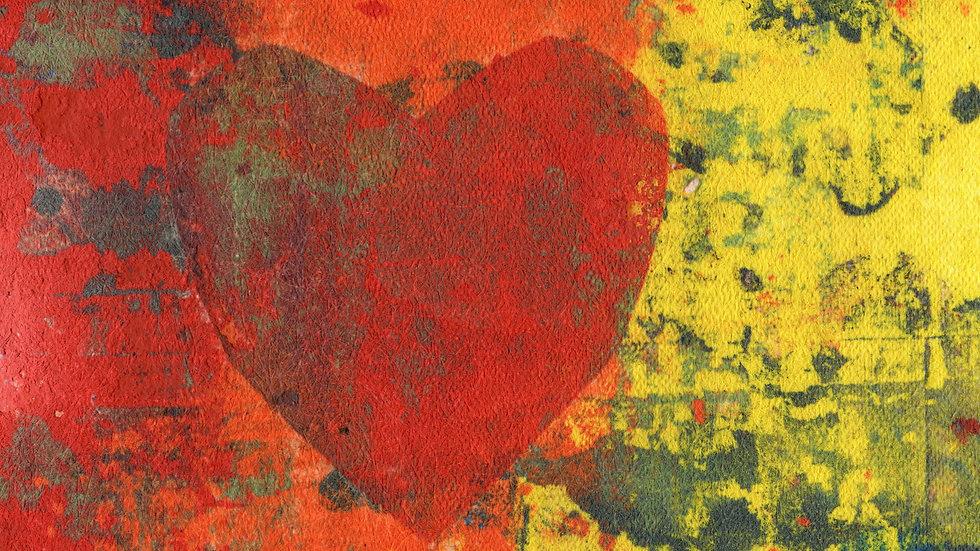 Clay Heart #2