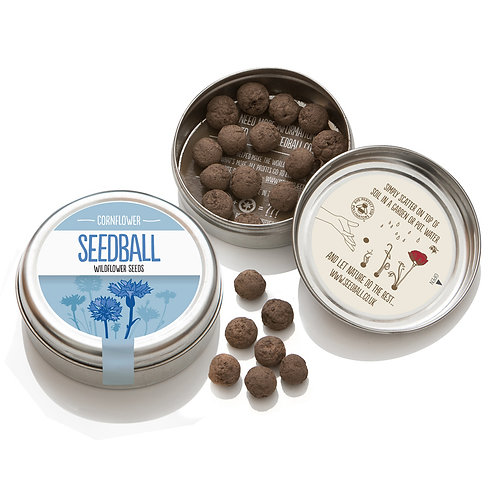 Seedball Cornflower seed mix