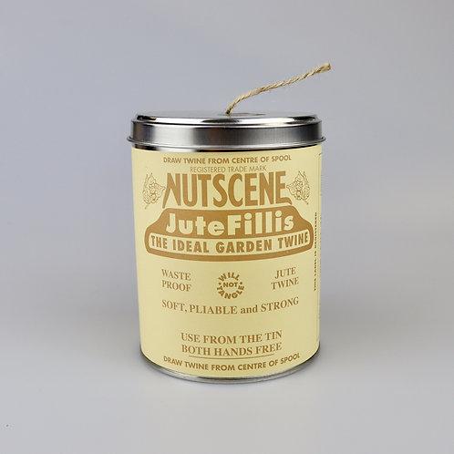 Tin of natural twine