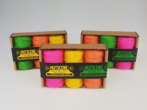 Nutscene Neon Twine- Triple pack