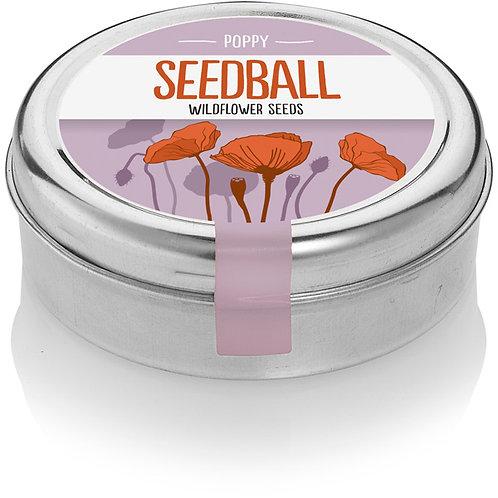 Seedball Wildflower Poppy Seeds