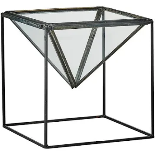 Planter with stand-Antique Black