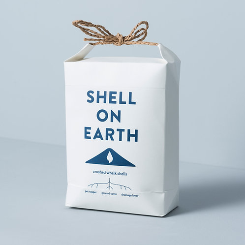 Crushed whelk shells - 'Mini' hand-tied bag (approx 1.5kg)