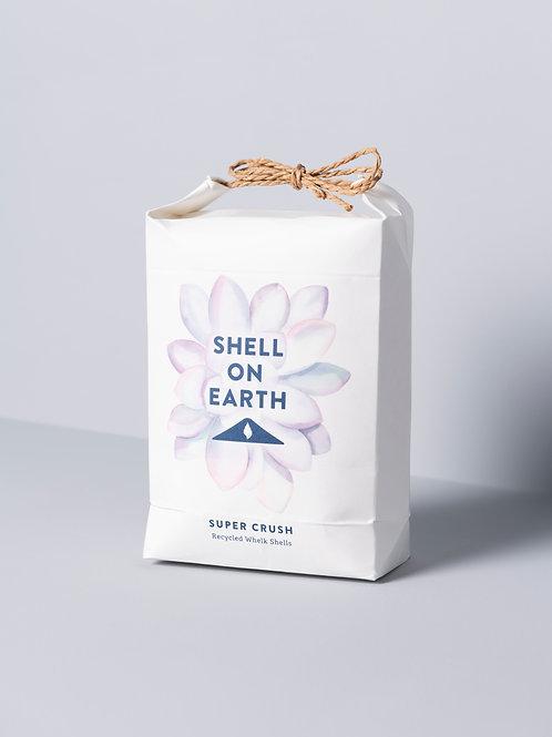 Crushed whelk shells - Super Crush, hand-tied bag (approx 1.5kg)