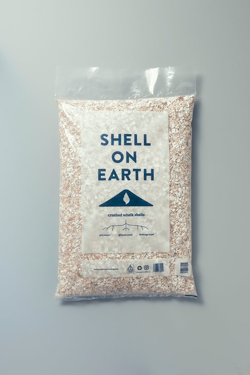 Crushed whelk shells - large bag (approx 12 litres)