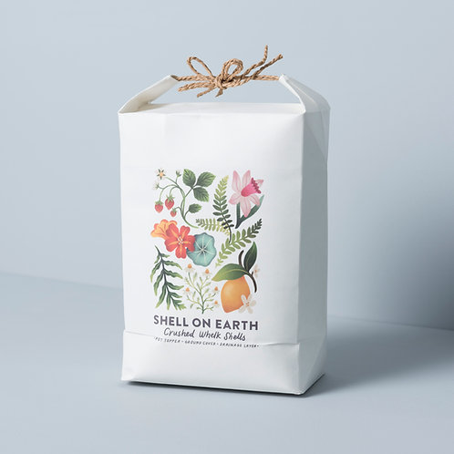 Limited Edition 'Garden of Eden' bag with original artwork (approx 3.5kg)