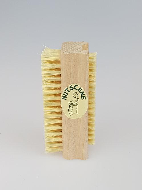 Nutscene Dual-sided Wooden Nail Brush
