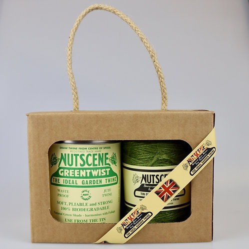 Tin of Twine with refill spool