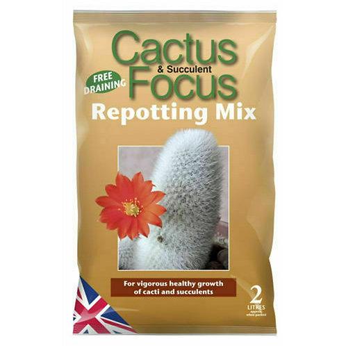 Cactus & Succulent Repotting Mix (2 or 8 Litre)