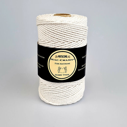 Macrame twine 85 metres- Recycled cotton