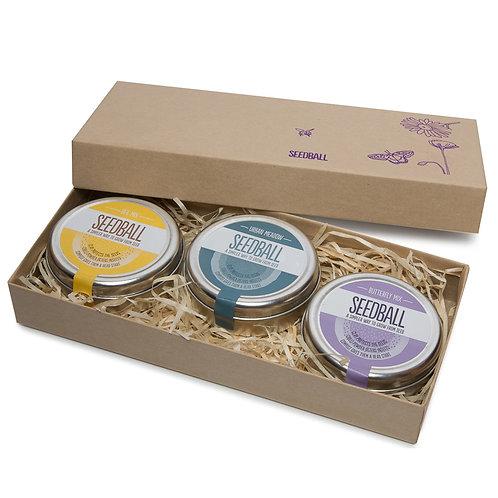 Seedball - 3 Tin Gift Set
