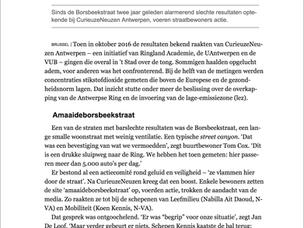 Interview met de Borsbeekstraat n.a.v. lancering Curieuzeneuzen Vlaanderen