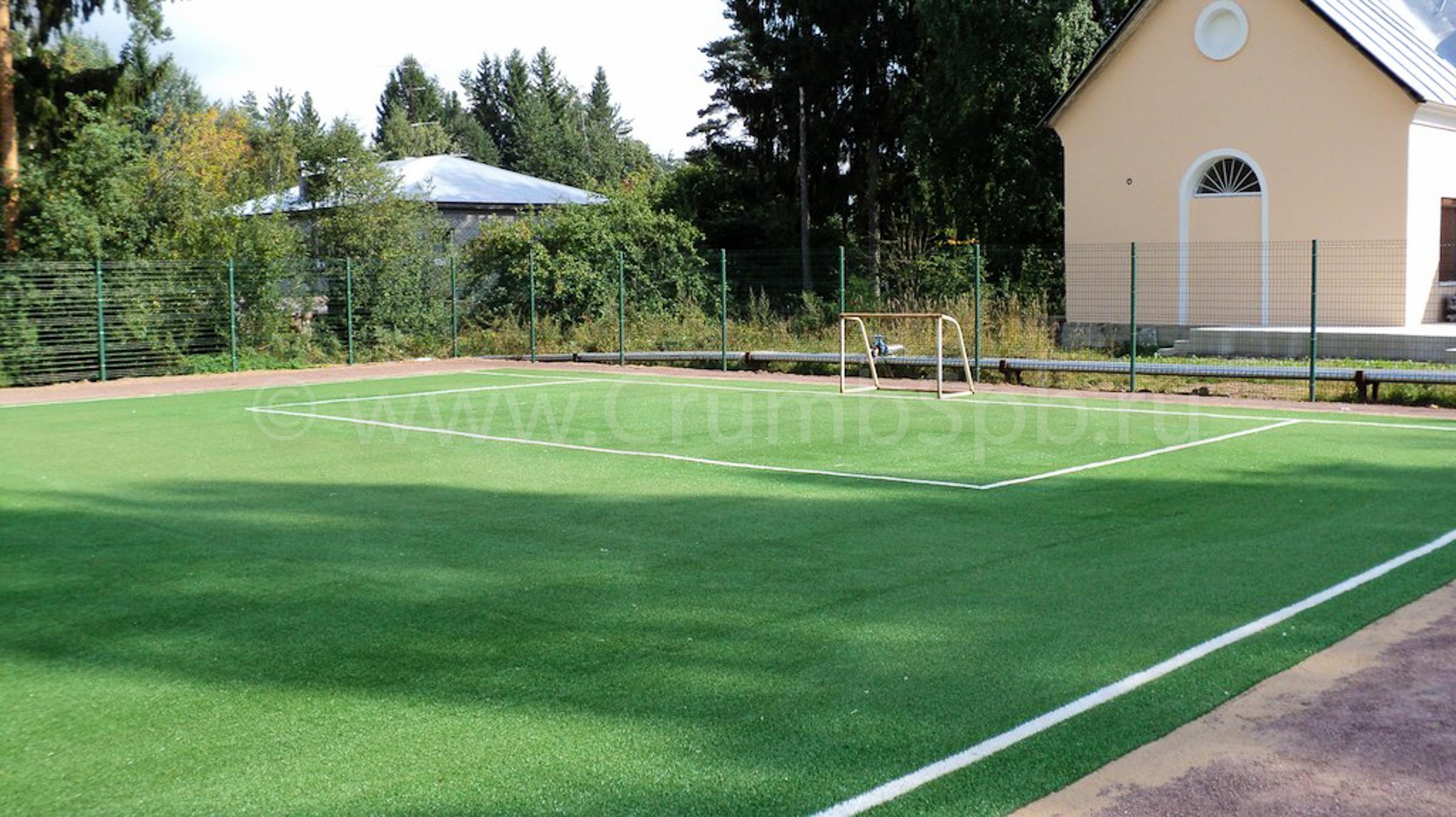 Площадка с искусственной травой 20мм