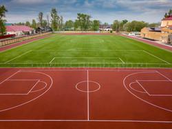 Покрытие для стадиона в Волхове