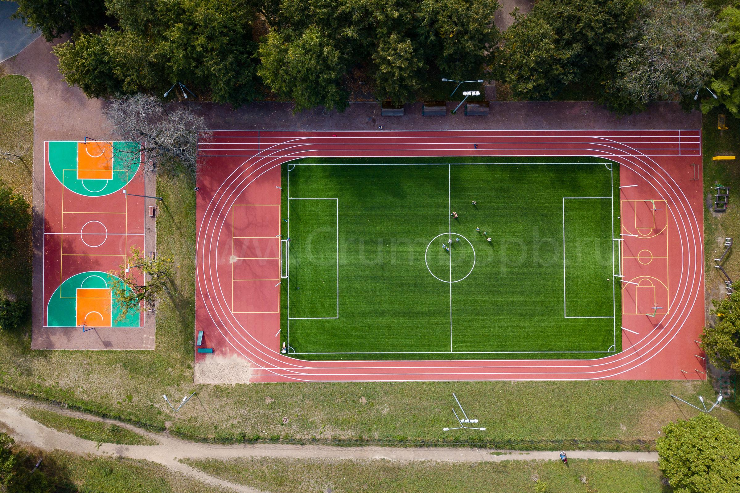 Искусственные покрытия для стадиона