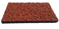 Спортивное покрытие Crumb Spray красный