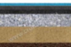 Асфальт под спортивное резиновое покрытие