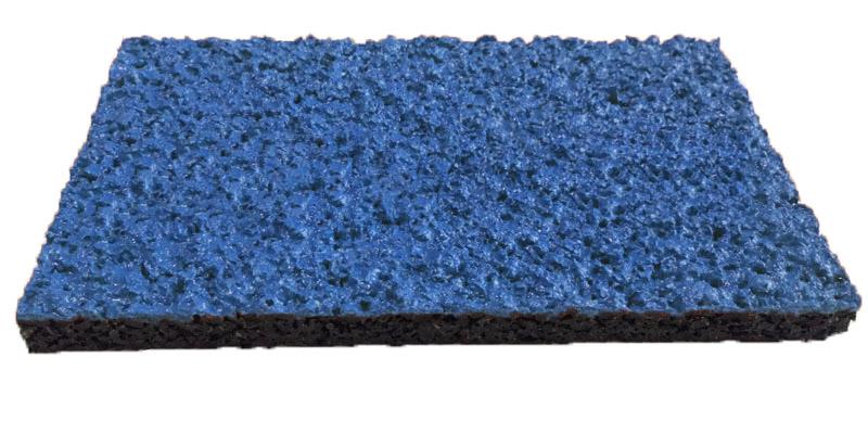 Спортивное покрытие Crumb Spray синий