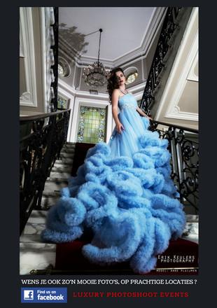 Fotograaf: Erik Keulers Model: Anne Pluijmen Dress: Luxury Photoshoot Styling Location & organisation event: Luxury Photoshoot Events met Jan Vangheluwe & Stefanie Lacante
