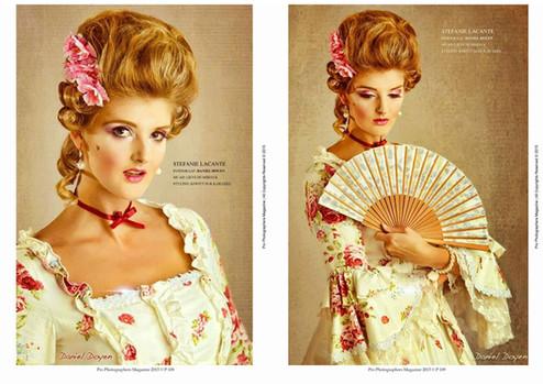 One-on-One Shoot  Fotograaf: Daniel Doyen Muah: Lieve Humbeeck Styling: Kostuum & Karamel