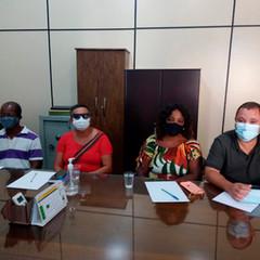 Reunião na Associação dos Funcionários Públicos do Estado da Bahia
