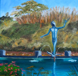BG Muses Reflecting Pool