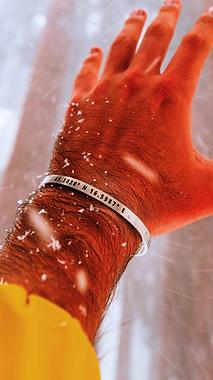 Customized Sterling Bracelet
