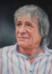 Portrait of Robin . Artist Writer and Poet