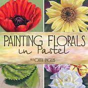 Cl;assic Pastel Painting with catherine Inglis