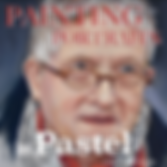 Painting Pastel Portraits & Mr D Hockney with Catherine Inglis