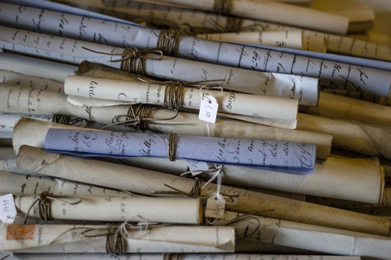 Koeiesteyn antieke documenten