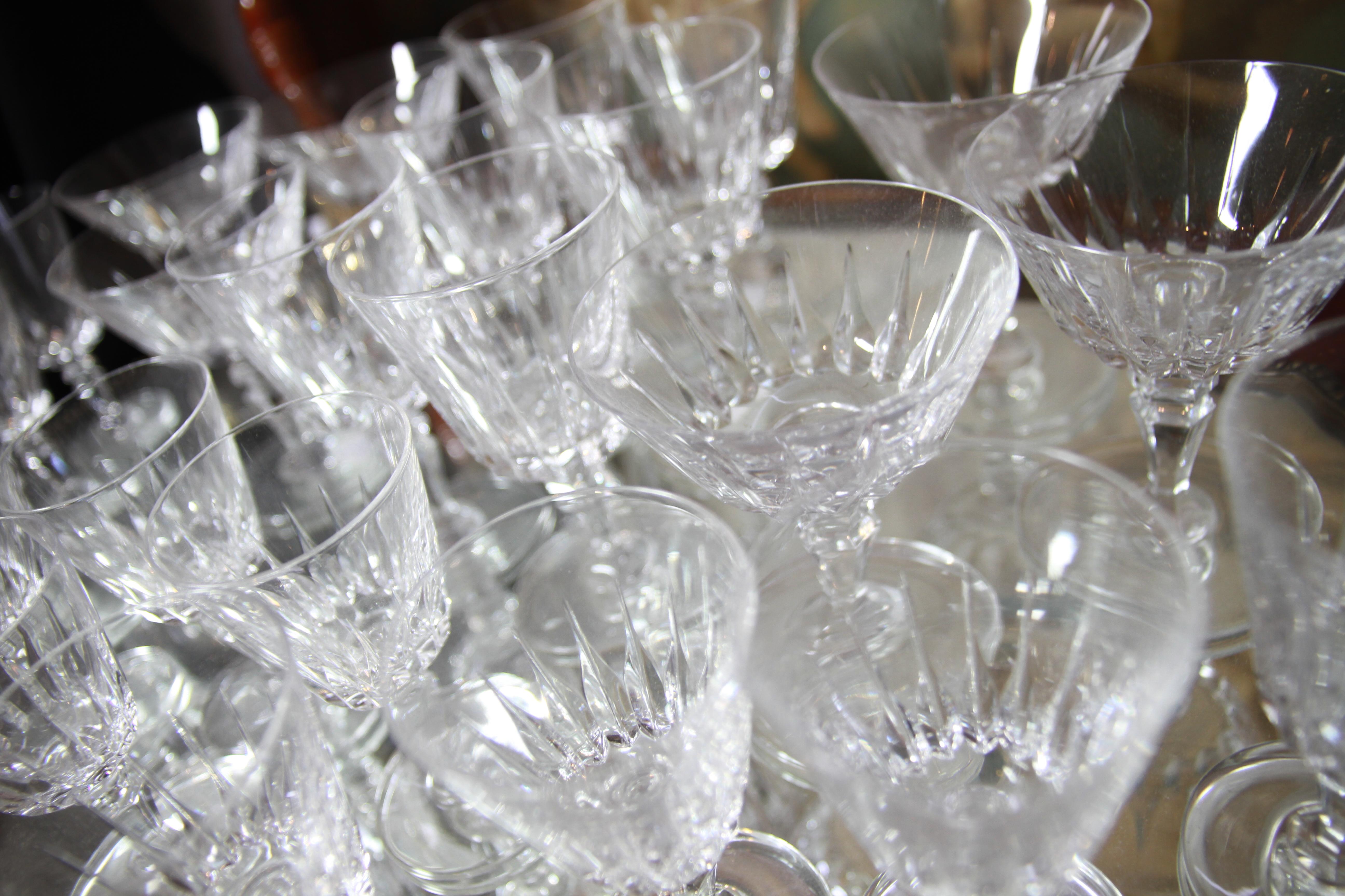 Koeiesteyn kristal glas