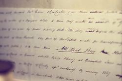 Koeiesteyn antieke-documenten